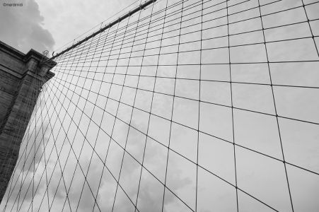 Brooklyn bridge structural detail