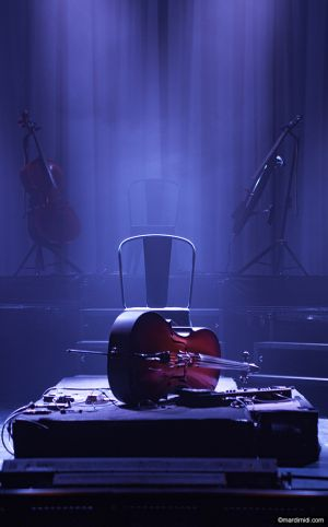 LEJ's cello