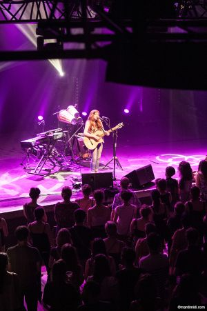 Helena on stage