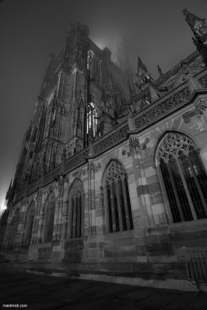 Cathedrale & fog